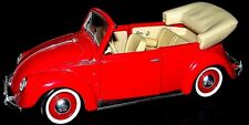 Maisto Red Special Edition 1:18  1951 Volkswagen cabriolet Highly detailed