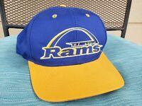 Rare Vintage St Louis Rams Snapback Hat Cap Logo 7 St Louis Team NFL