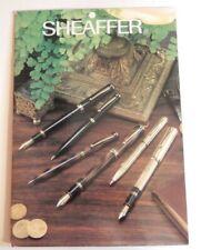 Original Sheaffer Connaisseur Retailers Counter Card