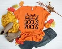 A Bunch of Hocus Pocus Fall Halloween Crew Neck Shirt by Saltee Beaches Apparel