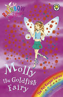 Molly the Goldfish Fairy (Rainbow Magic) by Daisy Meadows, Good Used Book (Paper