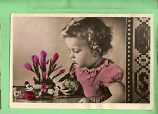 Flowers Collectable People Postcards