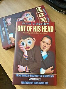 Frank Sidebottom 'Out of His Head' Authorised Biography Chris Sievey 1st Edition