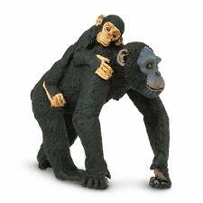 Safari Ltd. Chimpanzee with Baby Wildlife Replica Figure Toy 295929 New