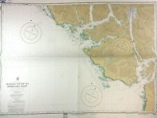 NOOTKA ISLAND Nautical CHART VANCOUVER ISLAND British Columbia Canada Vtg MAP