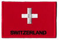Ecusson badge patche SUISSE patch Switzerland 70 x 45 mm à coudre brodé