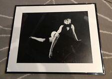 """19"""" x 16"""" Marilyn Monroe Slinky Black and White Framed Photo!"""