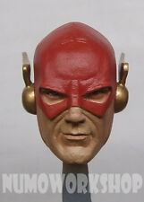 "The Flash 1/6 Scale CUSTOM UNPAINT HEAD for 12"" Body Figure by NUMO"