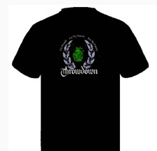 Throwdown Men's Wreath T-shirt Black Small New