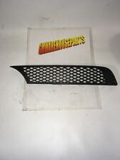 2005-2010 COBALT DRIVERS SIDE BLACK REAR BUMPER GRILLE VENT NEW GM # 89025745