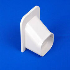 New Air Conditioner Wall Cover Ceiling Cap PVC Duct Split System 100mm