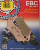 EBC - FA181R - R Series Sintered Brake Pads - Made In USA
