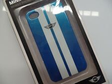 MINI iphone 4 & 4S CG MOBILE for iphone Blue & White hard Case Cover - MINI