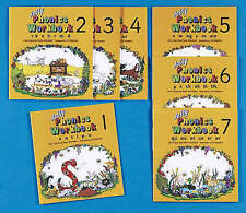 Jolly Phonics Workbooks: Books 1-7 by Susan M. Lloyd, Sara Wernham...