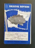 Bristol Rovers v Charlton Athletic Programme 10/01/59