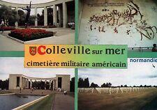 WW2  CP  - Colleville-sur-Mer  - Cimetière militaire américain