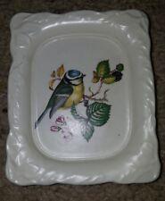 Guild Crafts (Poole) Ltd  Bird Made in England Soap dish White bath accessories