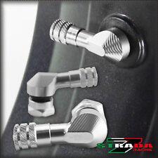 Strada 7 83 degré 11.3mm CNC VALVE DE MOTO tiges VALVE HONDA CBR 600 F4i Argent