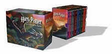 Harry Potter Paperback Box Complete Set Books All 1 2 3 4 5 6 7 Hermione Ron Lot