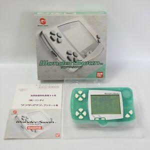 Wonder Swan Console SW-001 FROZEN MINT Boxed Bandai 2900497851 ws