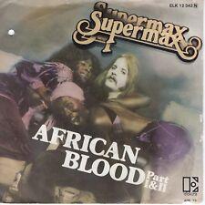 7inch SUPERMAX african blood GERMAN 1979 EX/VG++ (S1472)