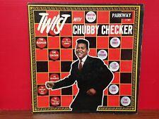"1960 Chubby Checker ""Twist With Chubby Checker"" 33 1/3 RPM LP Record"