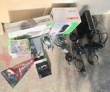 Xbox 360 S slim 250gb System Kinect Bundle Halo Mass Effect Collector's Editions