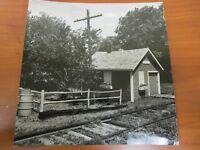 Vintage Glossy Press Photo Sudbury MA Transformer Pride Crossing Train Track