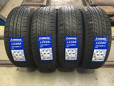 X4 195 60 15 195/60R15 88H LANDSAIL NEW HIGH MILEAGE TYRES AMAZING C,C RATINGS