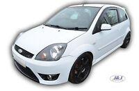 Ford Fiesta MK6 3 DOOR 2002-2008 Front wind deflectors 2pc set TINTED HEKO