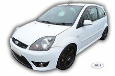 Ford Fiesta MK6 3 DOOR 2002-2008 Front wind deflectors 2pc set TINTED HEKO