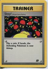 Pokemon Team Rocket Common Card #79/82 Sleep