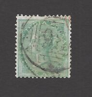 India 1856 4a green fine used