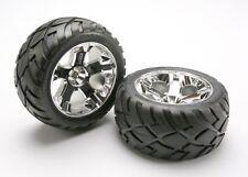 Traxxas 5576r Anaconda Tires & All Star Wheels Rear 12mm Hex