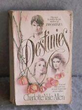 DESTINIES CHARLOTTE VALE ALLEN Romance Novel 1982 Paperback