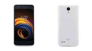 LG Tribute Empire- 4GB - White (Virgin Mobile) Smartphone