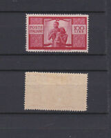 ITALY 1945 Democratica 100L. Mint *  Sc.477 (Sa.565)