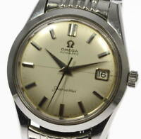 Vintage OMEGA Seamaster cal.503 Rice bracelet Automatic Men's Wrist Watch_365329
