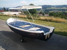 Bimini Sonnenverdeck Sonnendach 180 x 120-140 cm Angelboot Ruderboot Motorboot