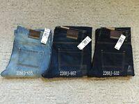 NWT New Men's Timberland Regular Fit Straight Leg Jeans Pants 2268J