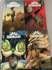 FARMHAND 1 2 3 4 Rob Guillory Image Comics First Printing Chew Chicken Poyo HOT