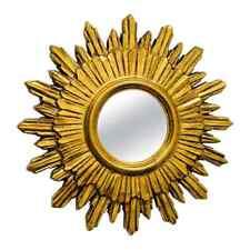 NP39 * Starburst Sunburst Mirror Hollywood Regency Style, circa 1970s, France