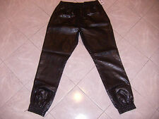 SOUTH POLE COLLECTION SHINY SWEATS BLACK FAUX GATOR STYLE NWT XL HIGH QUALITY