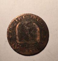 5 Centimes Napoléon 3 1864A N1
