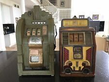 Vintage antique slot machines