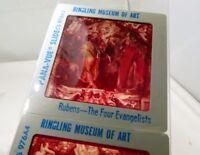 Ringling Circus Museum of ART Rubens Pana-Vue Travel Slides 1950-70's