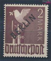 Berlin (West) 18 geprüft postfrisch 1948 Schwarzaufdruck (8717023