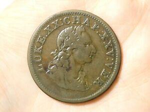 1822 Hibernia Religious Bible Quote LUKE XX Penny Token Condor #TT131