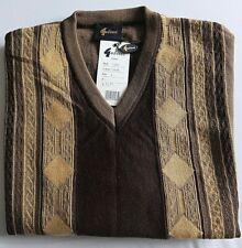 Gabicci V-Neck Jumper, Wool Blend, in Taupe Lovely Design, Large, BNWT  RRP £60