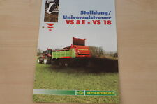 158489) Strautmann Universalstreuer VS 8 E - 18 Prospekt 05/2002